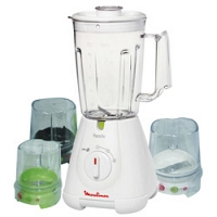 Moulinex Blender Faciclic - 400W, 1.5L, Jug+3 Units