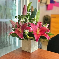 Mini Lilly Basket
