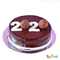 New Year 2020 Ferrero Cake