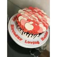 Popup Heart Cake 1kg