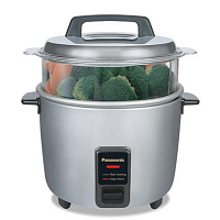 Panasonic 1.8L (Silver) Rice Cooker – SR-W18GS-SI