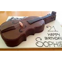 The Best Violin Cake