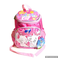 Pink Kids School Bag