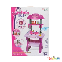 Pink Kitchen Set for Girls