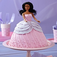 Pinky Doll Cake