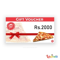 Pizza Hut Gift Voucher Rs.3000