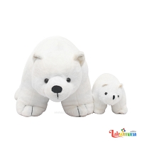 Polar Bear Mom and Son