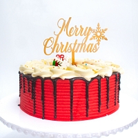 Red Cherish Xmas Cake 1.5kg