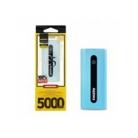 Remax E5 5000mAh Power Bank Charger USB 5V 1A Port Anodized Alum