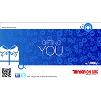 Fashion Bug Gift Voucher Rs.1000/=
