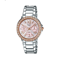 Casio Sheen - SX188 Rose Gold Women's Watch
