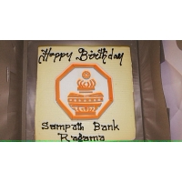 Special Cake For Sampath Bank