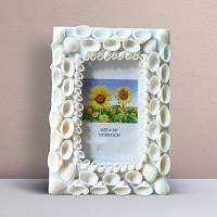 Sea Shell Photo Frame