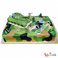 Specialty Army Tank Cake 2kg