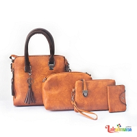 Stylish Women's 4 Piece Hand Bag