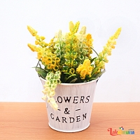 Summer Glow Flower Basket