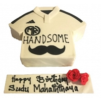 Handsome T-Shirt Cake