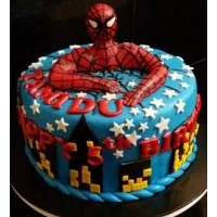The Best Spider Man Cake 1.5Kg