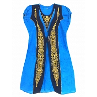 Traditional bathic frock Blue