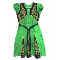 Traditional bathic frock Green