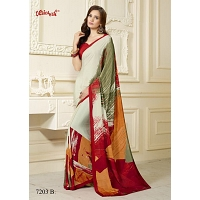Send VAISHALI CREPE SILK SAREE 7203 B