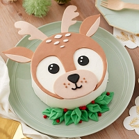 Winter Deer Cake