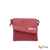 Women's Maroon Side Bag