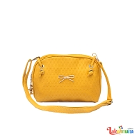 Women's Yellow Side Bag