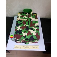 Army Theme Birthday Cake 2kg
