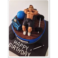 My Gym Boy Cake