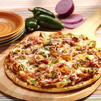 Devilled Chicken Pizza