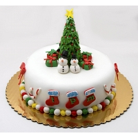 joyful Christmas Cake