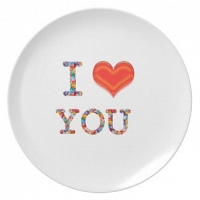 Love you Plate