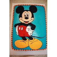 Coolest Mickey Mouse Birthday Cake 2Kg