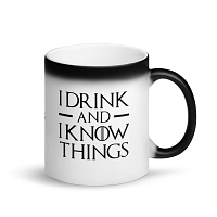 "Game of Thrones ""I Drink and I Know Things"" Magic Mug"