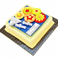 Sinhala New Year Fab Cake - 2lbs