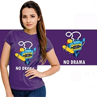 No Drama Purple