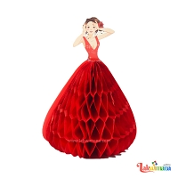 3D Princess Greeting Card