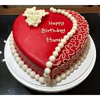 Lovely Heart Cake