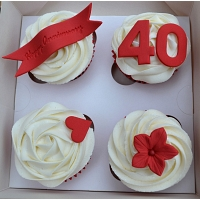 Anniversary Cup Cake