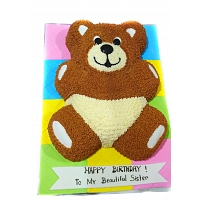 Cute Baby Teddy Cake