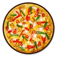 Spicy Veggie with Paneer Pizza