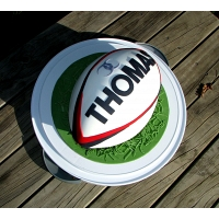 Rugby Ball Cake 2kg