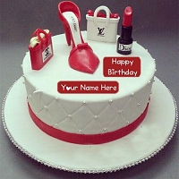 Coolest Fashion Birthday Cake 2kg
