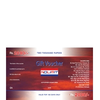 Nolimit  Rs.2000/= Gift Voucher