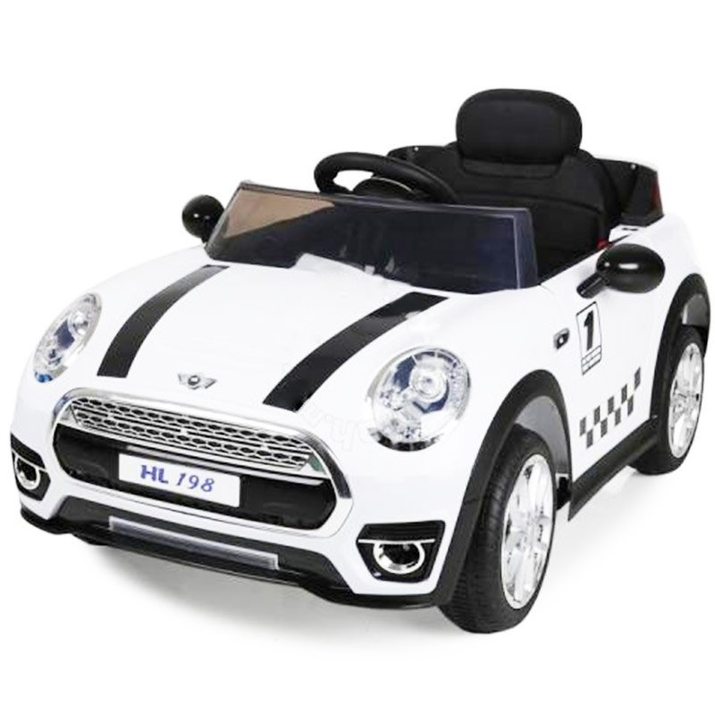 Kids Mini Cooper Style Electric Ride On Car, Lakwimana
